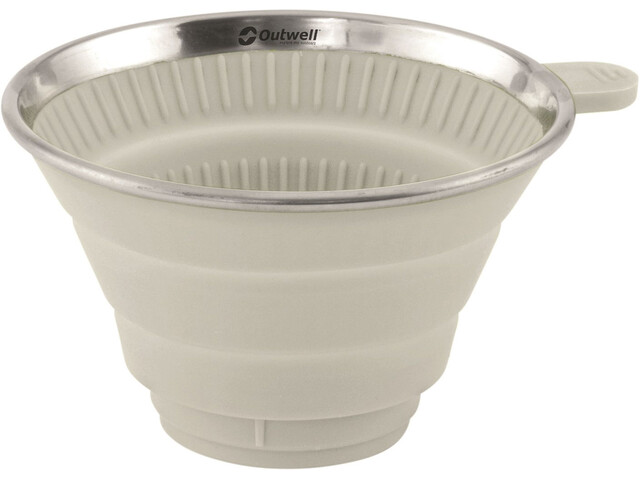 Outwell Collaps Coffee Filter Holder Cream White